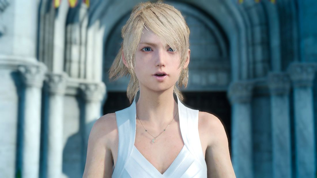 Portrait of Lunafreya