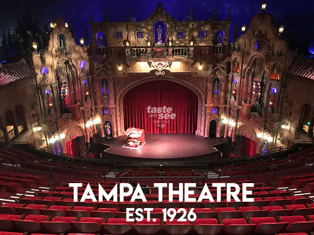 Tampa Theatre stage